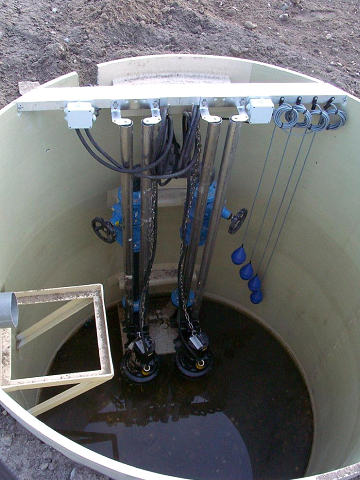 Sate soci t aquitaine de traitement des eaux equipement sp cifique for Poste de relevage